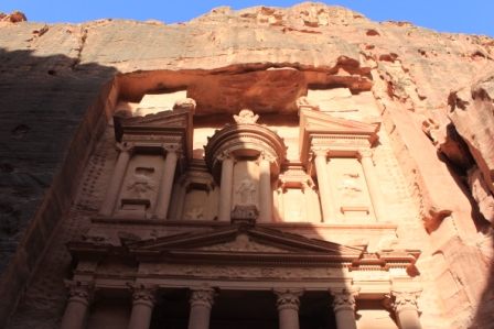Check out the URN atop the treasury- It is said that the Pharaoh's treasure is stowed here..