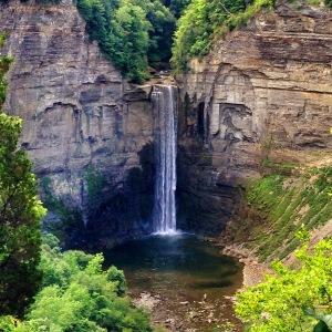 Taughannock Falls...