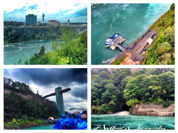 The gorgeous Niagara Falls.
