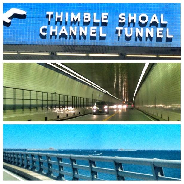 The famous tunnel bridge